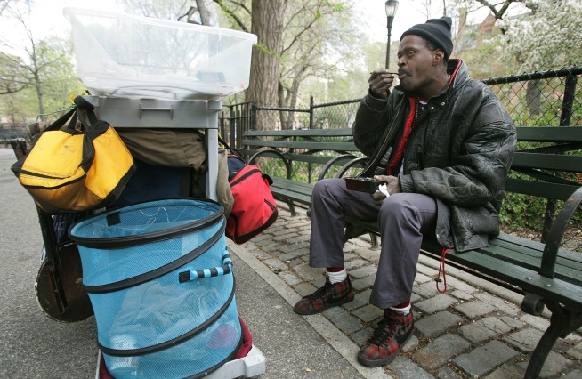 New York's Homeless Crisis Just Gets Worse