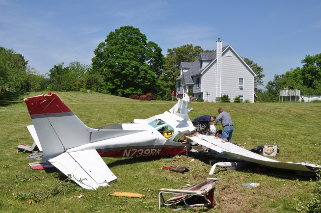 Four Long Islanders Injured in Hudson Valley Plane Crash
