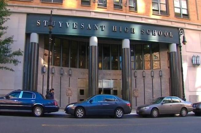 A student at New York City's prestigious Stuyvesant High School has been forced out over allegations of helping more than 50 other students cheat on a citywide exam last week. His peers Tuesday both supported and criticized his being forced out of the school. Roseanne Colletti reports.