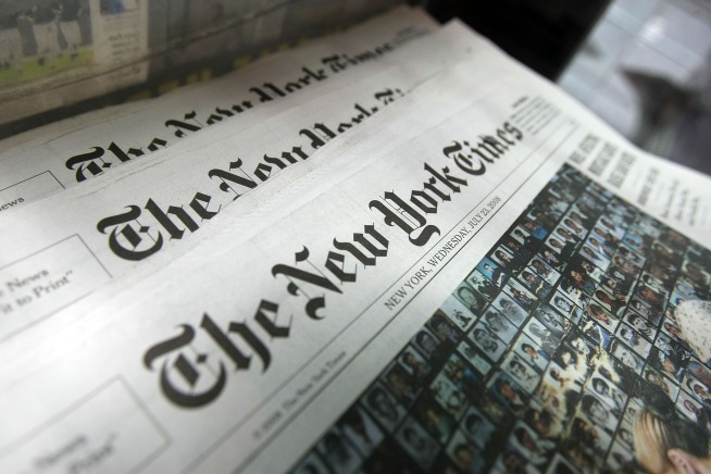 New York Times to Start Charging for Web, Mobile