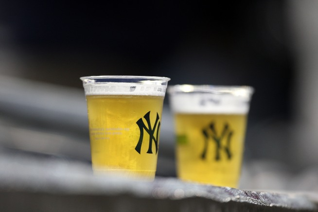 Yank Fans Soak Suffering In Suds