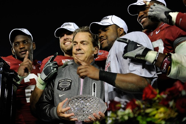 Deserving Tide Won't Slide Under Coach Saban