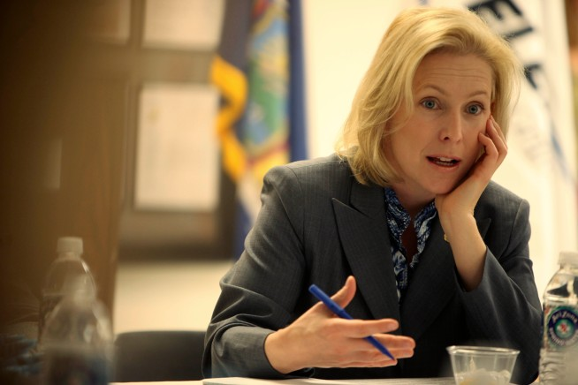 "Mayor Bloomberg Endorses Senator Kirsten Gillibrand... as ""Stunning"""