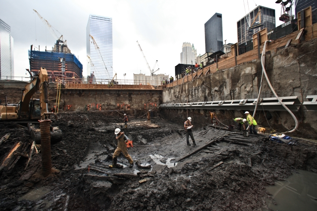 Workers Start to Dismantle Historic Ground Zero Ship