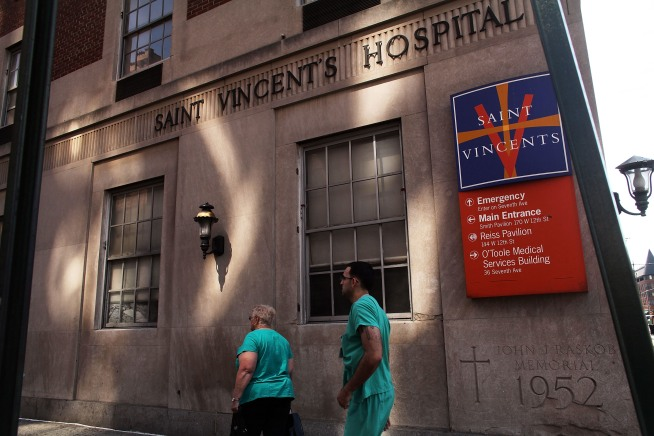 St. Vincent's Closer to Sale of Former Hospital