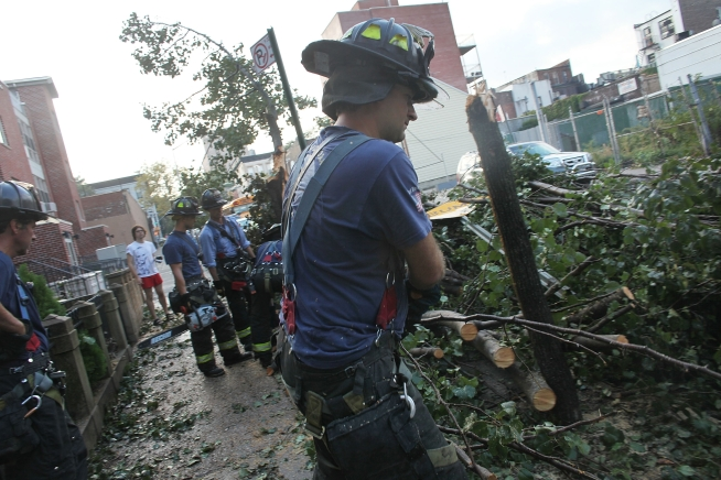 FEMA Examines NYC to Determine Federal Funding for Tornado Cleanup