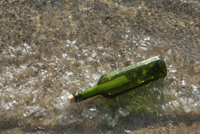Message in a Bottle Washes Up in England -- 5 Years Later