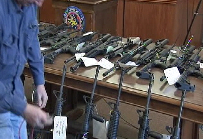 5 Gun Shops Accused of Illegal Sale of Assault Rifles