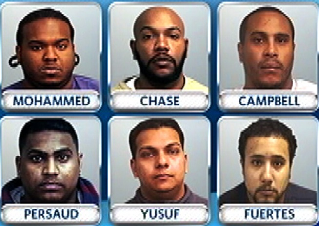 Six NYC Men Arrested in Nassau Home Invasion