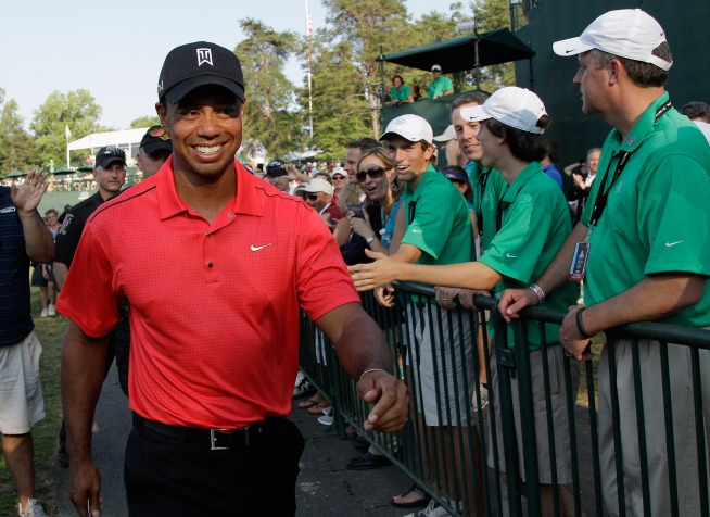Tiger Squeaks Out Win at Congressional