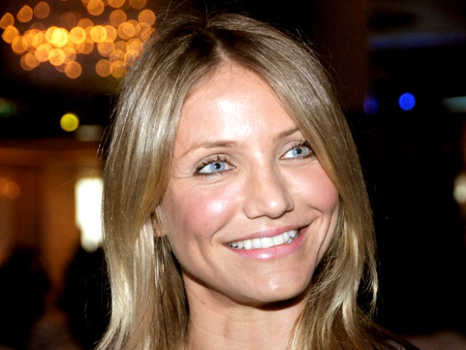 Cameron Diaz Joins Boston Celtics At 9/11 Event