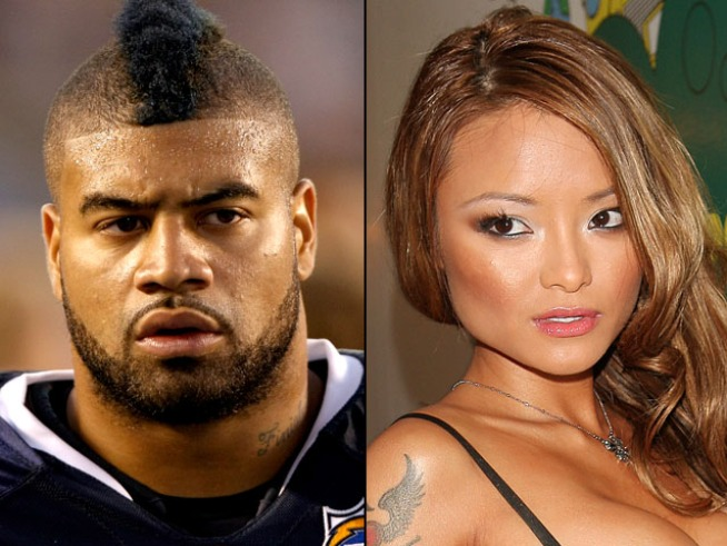 "NFL's Shawne Merriman Accused of Choking Tila ""Tequila"""