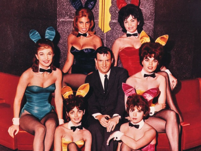 Hef says the early days weren't what you might think.