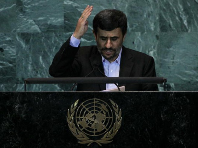 U.S. Walks Out During Ahmadinejad Speech at U.N.
