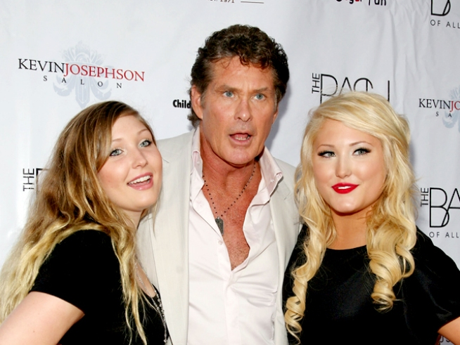 "Hasselhoff on Howie Mandel Taking His Seat On ""America's Got Talent"""