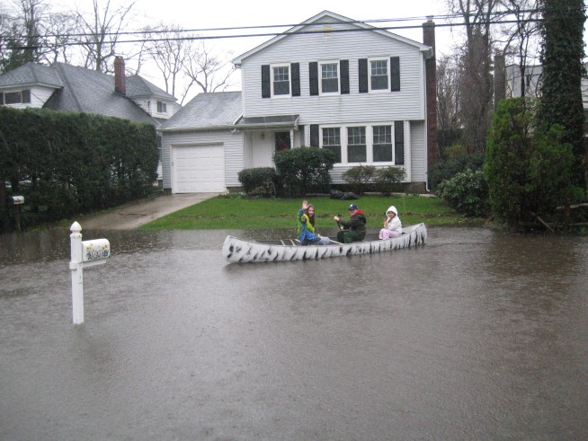 FEMA to View Long Island Flood Damage