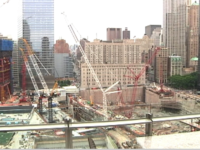 Room with a View of Ground Zero