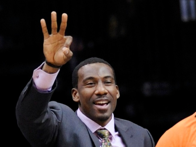 It's a Good Time for Amar'e Stoudemire to Take a Vacation