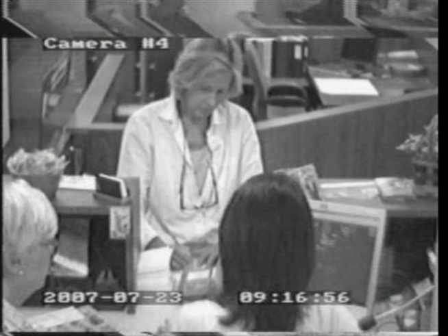 Bank surveillance captures <a title=
