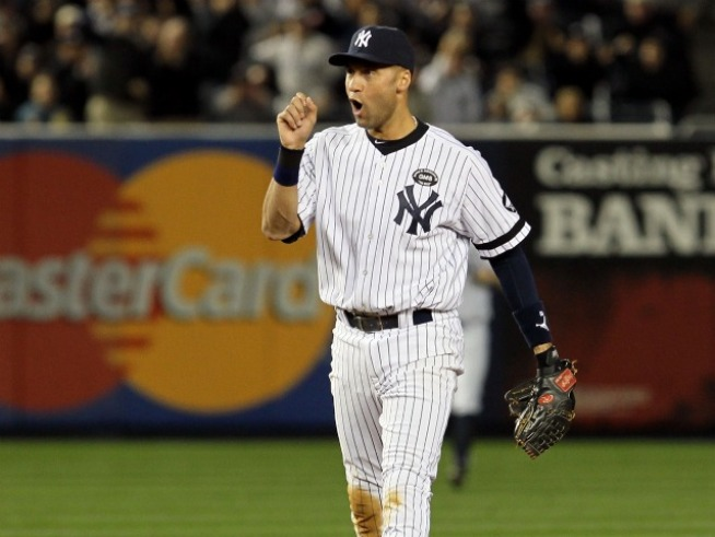 Derek Jeter Has the Right Reaction to Hank Steinbrenner