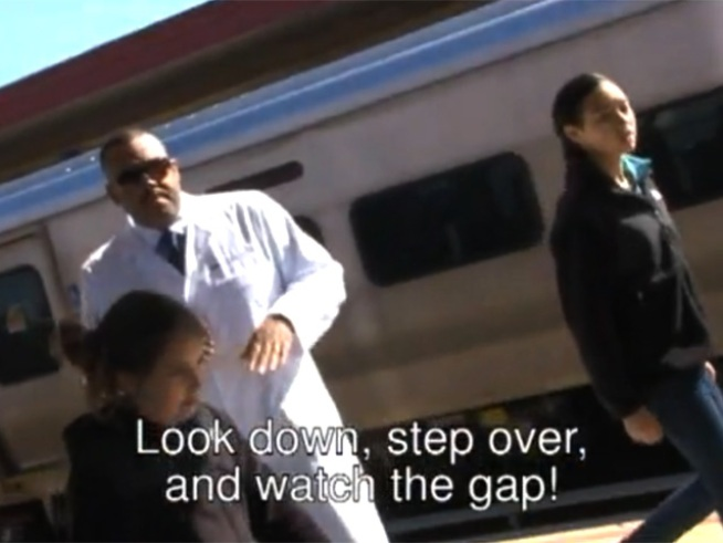 "LIRR Goes Pop with ""Gap Rap"""