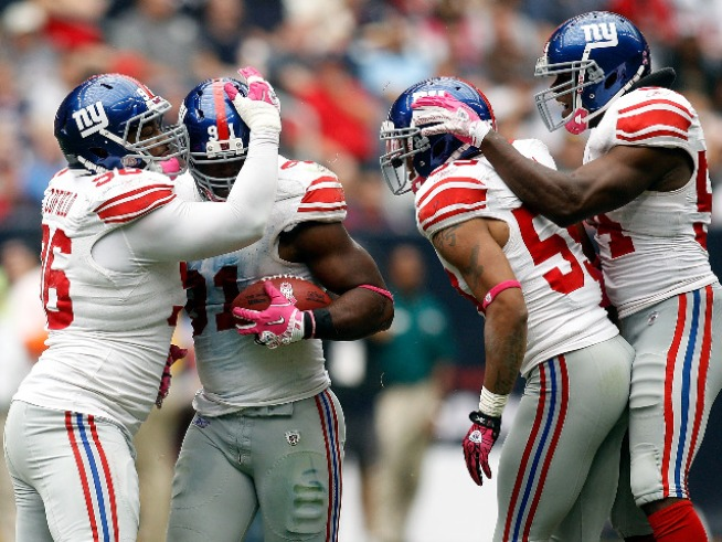 The New York Giants 2010-11 Season in Photos
