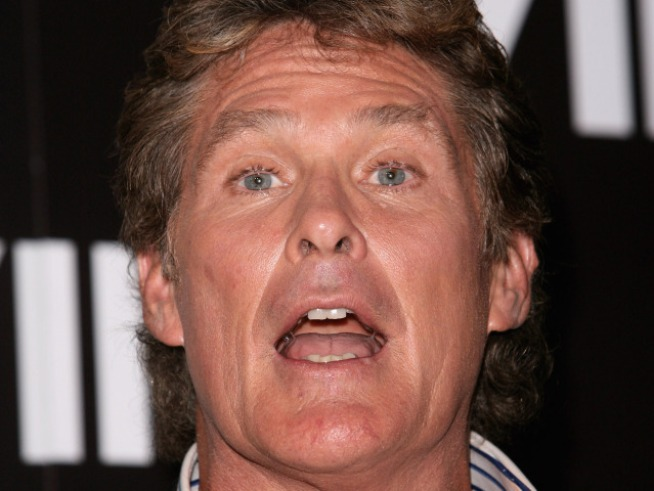 Hasselhoff Not Drinking; Pamela Bach Gets DUI Arrest