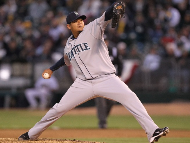 King Felix Hernandez Reigns in the Bronx