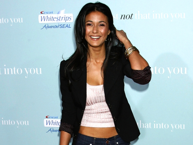 """Entourage"" Beauty Emmanuelle Chriqui Tops ""Desirable"" List"
