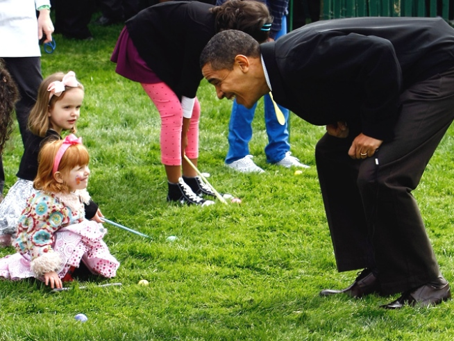 Obama's Littlest Constituents