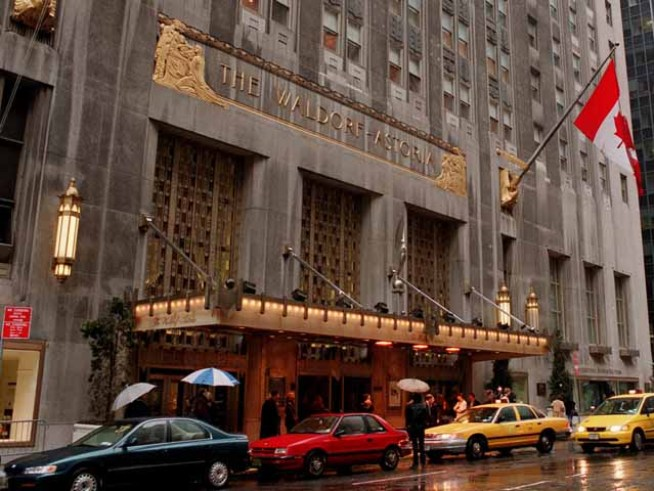Fire Breaks Out in Basement of Waldorf-Astoria