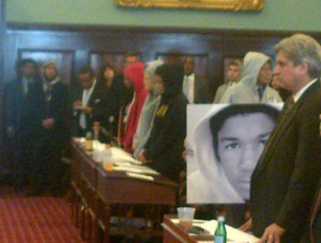 New York City councilmembers wore hoodies Wednesday in honor of Trayvon Martin. The Florida teenager was wearing a hooded sweatshirt when he was gunned down by a neighborhood watch captain in February.  News4's Andrew Siff reports.