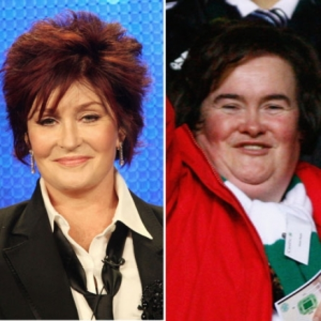 "Sharon Osbourne: Susan Boyle ""Hit with an Ugly Stick"""