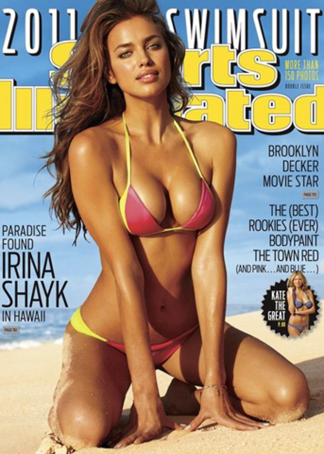 "Fries with that Shayk? Meet the New ""Sports Illustrated"" Swimsuit Cover Model"