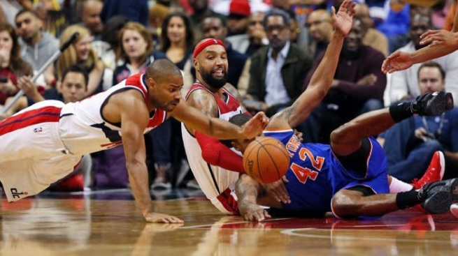 Melo's 37 Help Knicks Spoil Wizard's Home Opener