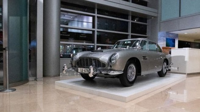 Get Up Close to James Bond's Iconic 1965 Vehicle at Sotheby's NYC