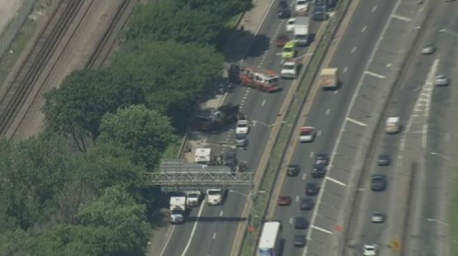 Crash Cleared on I-87, Delays Persist on Cross Bronx Expressway