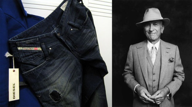 Above the Fray: Gay Talese Disapproves of Waiting in Line for Diesel's Dirty Thirty Jeans