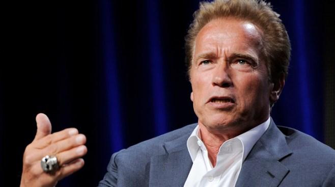 """Last Stand"" Star Schwarzenegger Talks Gun Control"