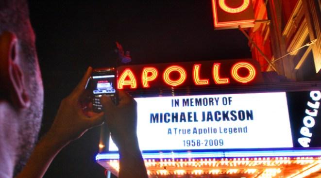 Apollo Holds Daylong Jackson Tribute