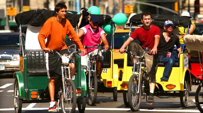 NYC Cracks Down on Pedicab Safety