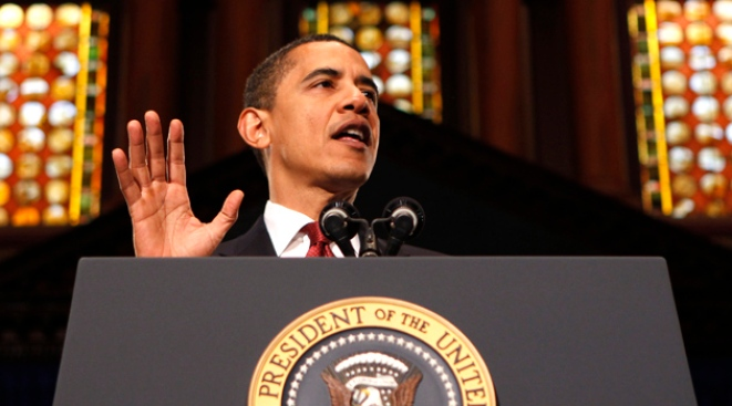 Obama Invokes Jesus More Than Bush
