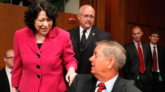 GOP Sen. Graham Will Vote Yes on Sotomayor