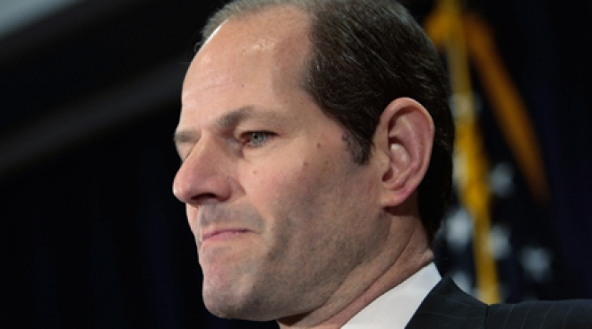 Eliot Spitzer Psyched He Isn't the Biggest News Item This Week