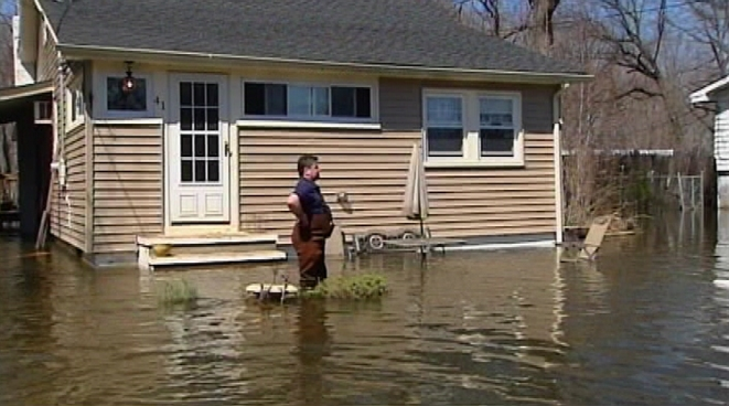 Flooding Turns NJ Communities Into Ghost Towns