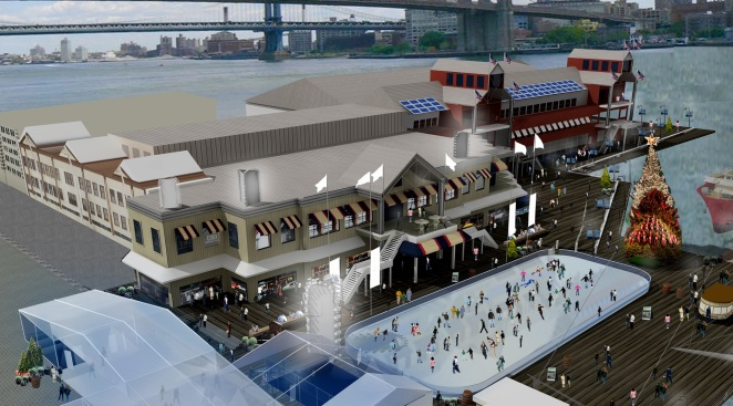 Eat Your Heart Out, Rockefeller Center: Seaport Rink To Open
