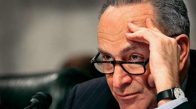 Poll: Schumer's Approval Rating Below 50%