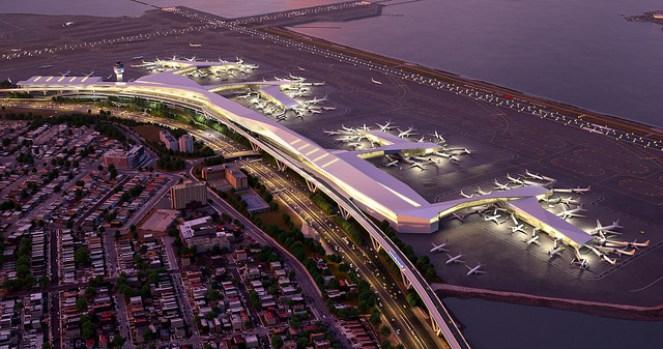 LaGuardia Airport Redesign Renderings