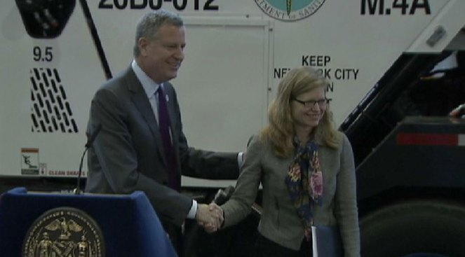 NYC Mayor Appoints New Sanitation Commissioner