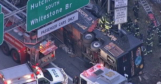 [NY] Horrific Bus Crash in the Bronx